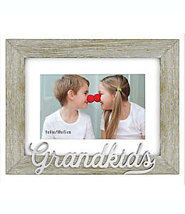 Grandkids Portarretratos para foto de 10.16 x 15.24 cm en gris