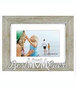 Best Mom Ever Portarretratos para foto de 10.16 x 15.24 cm en gris
