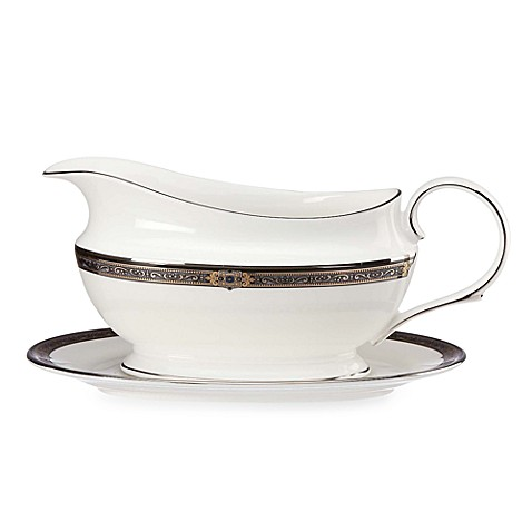 Lenox® Vintage Jewel™ Gravy Boat and Stand
