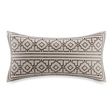 image of Echo™ Odyssey Print Oblong Throw Pillow in Stone
