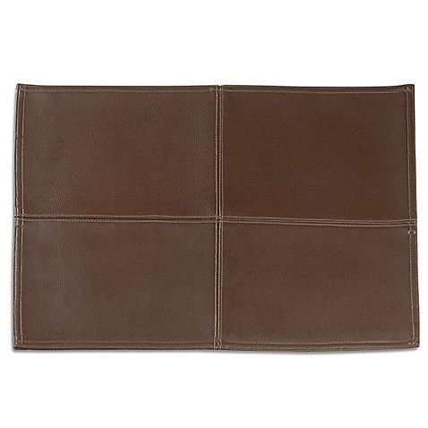 Faux Leather Placemat Bed Bath Amp Beyond