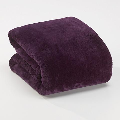 Buy Berkshire Blanket 174 Serasoft 174 Supreme Throw In Purple