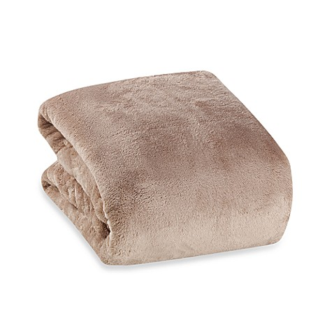 Buy Berkshire Blanket 174 Serasoft 174 Supreme Throw In Chino