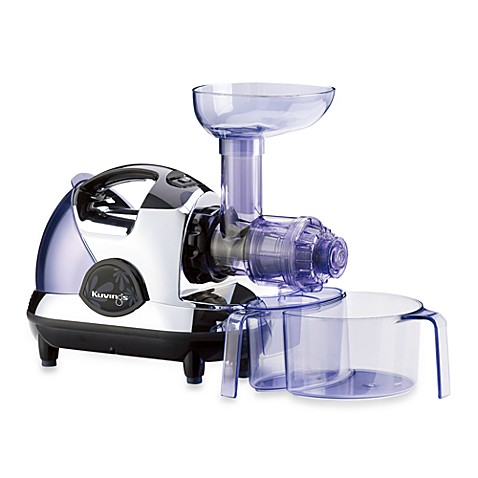 Slow Juicer Bed Bath And Beyond : Kuvings Masticating Slow Juicer in Chrome - Bed Bath & Beyond