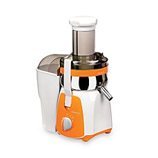 image of Kuvings® Centrifugal Juicer in White/Orange