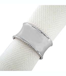Anillos para servilletas Beaded Elegance™, en plata