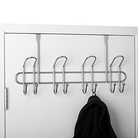 Heavy Duty Over-the-Door Hook Rack