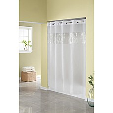 image of Hookless® Frost 71-Inch W x 74-Inch L Shower Curtain