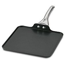 image of calphalon nonstick 11inch square griddle - Staub Grill Pan