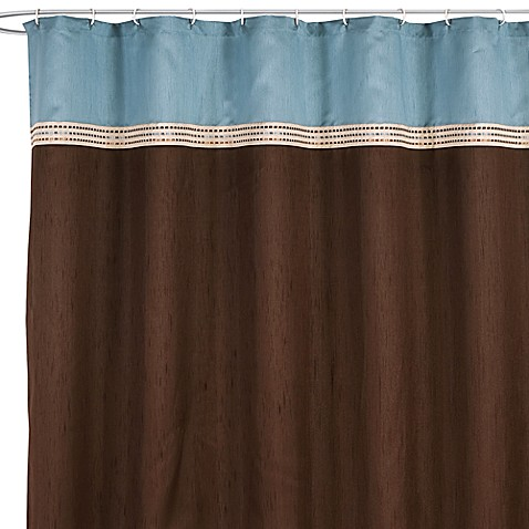 Terra Blue 72 Inch X 72 Inch Fabric Shower Curtain Bed Bath Beyond