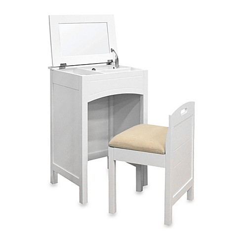 Cheswick vanity set in white bed bath beyond - Bed bath and beyond bedroom furniture ...