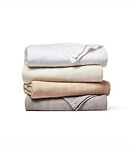 Cobertor individual Wamsutta® Classic HomeGrown™, de algodón en café bronceado