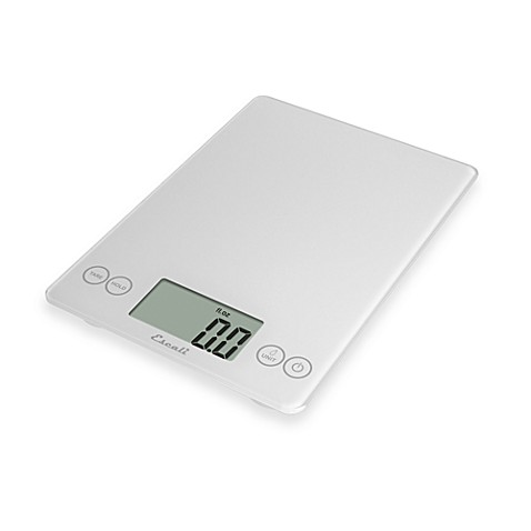 Escali® Arti 15 lb. Multipurpose Digital Food Scale in White