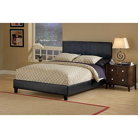 hillsdale furniture harbortown bed set with side rails bed bath beyond. Black Bedroom Furniture Sets. Home Design Ideas