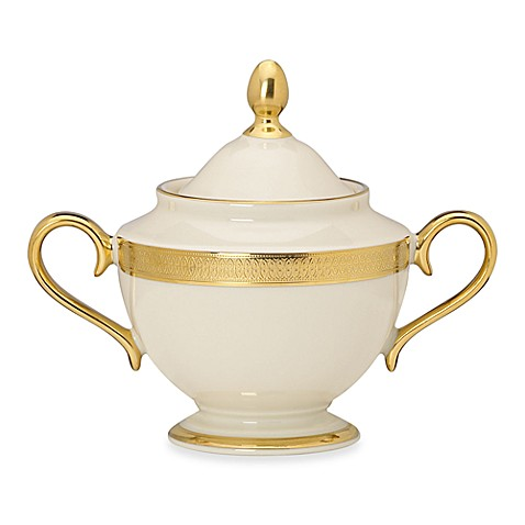 Lenox® Lowell Covered Sugar Bowl