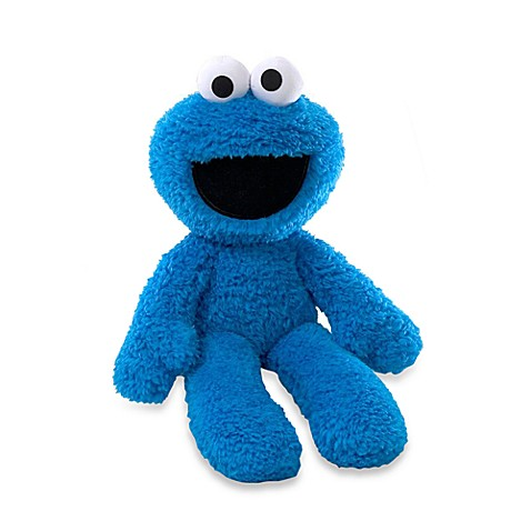 GUND Cookie Monster Take-Along Buddy