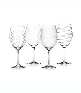 Copas para vino tinto de vidrio Mikasa® Cheers, de 709.76 mL, Set de 4 pzas.