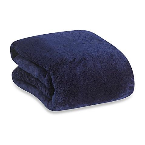 Buy Berkshire Blanket 174 Serasoft 174 Supreme Throw In Midnight