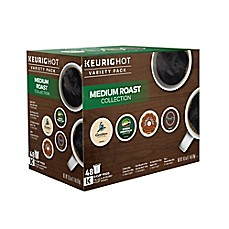 image of Keurig® 48-Count Medium Roast K-Cup® Coffee Variety Pack