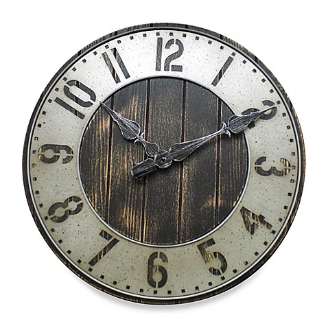 wall clocks, alarm clocks  radio clocks  bed bath  beyond,