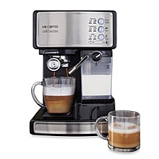 Image Of Mr Coffee Cafe Barista Bvmc Ecmp1000 Espresso Maker