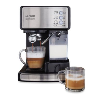 Mr Coffee Latte Maker Clearance : Mr. Coffee Cafe Barista BVMC-ECMP1000 Espresso Maker - Bed Bath & Beyond