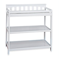Child Craft™ London Euro Flat Top Changing Table In Matte White