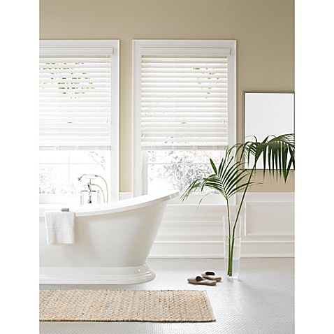 Real Simple 174 Faux Wood Window Blind Bed Bath Amp Beyond
