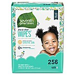 image of Seventh Generation™ Free & Clear Baby Wipes (256-Count)