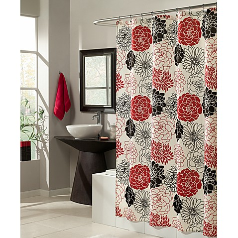 Mstyle Full Bloom 70 Inch X 72 Inch Shower Curtain
