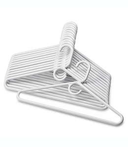 Ganchos de uso pesado SALT™, en blanco, Paquete de 12