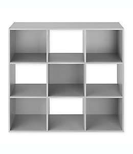 Repisa organizadora de 9 estantes Relaxed Living en gris
