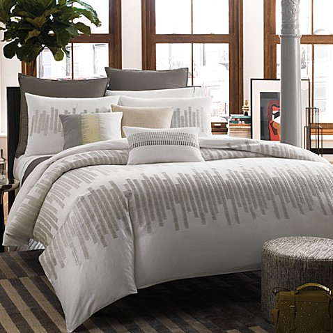 kenneth cole reaction home frost duvet cover bed bath beyond. Black Bedroom Furniture Sets. Home Design Ideas