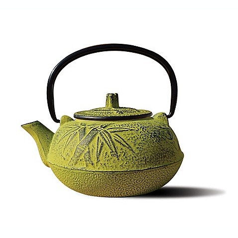 Tetsubin osaka 20 ounce cast iron teapots with infuser bed bath beyond - Japanese teapot with infuser ...