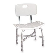 image of Drive Medical Aluminum Bariatric Heavy Duty Bath Bench with Back
