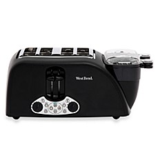 image of West Bend® 4-Slice Egg and Muffin Toaster
