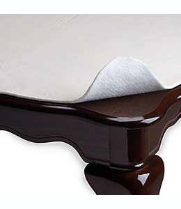 Protector de mesa de vinilo Ultimate Luxury Hotel Collection™, de 1.32 x 3.04 m en marfil