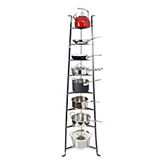 image of Enclume® Premier Collection 8-Tier Cookware Stand Knock Down
