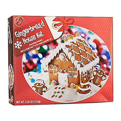 gingerbread house kits gingerbread house kit bed bath amp beyond 12048
