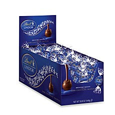 image of Lindt Lindor 120-Count Dark Chocolate Truffles
