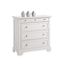 image of Home Styles Naples 4-Drawer Chest in White