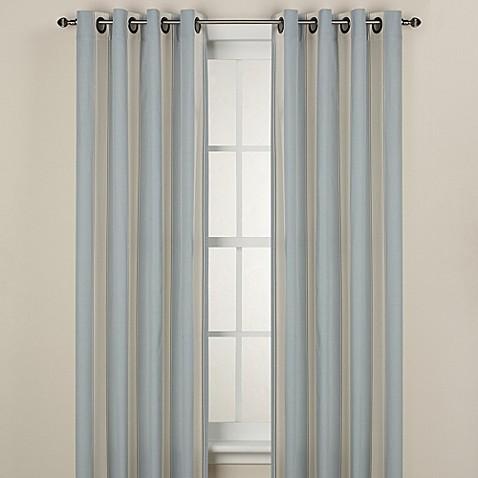 Lauren Stripe Window Curtain Panel