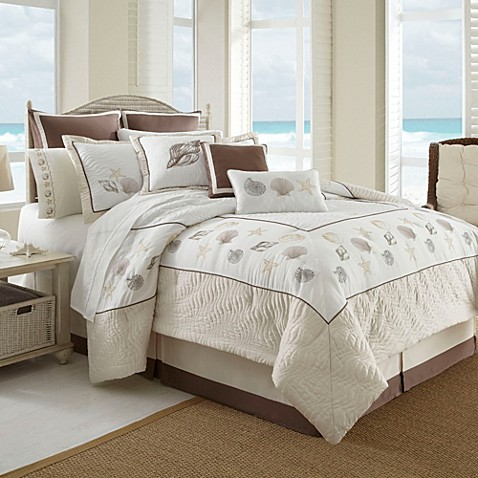 Outer banks 6 8 piece comforter set bed bath beyond - Bed bath and beyond bedroom furniture ...