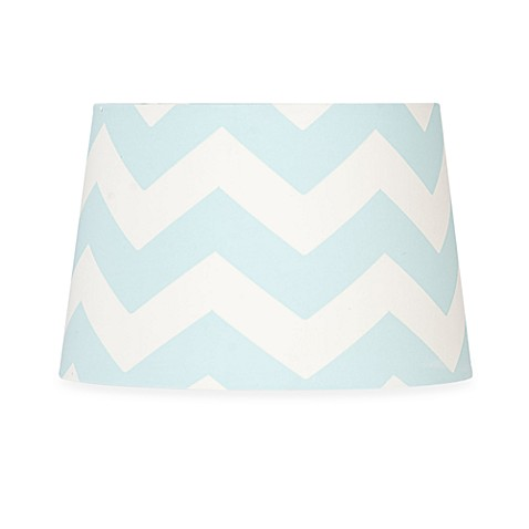 Lolli Living™ by Living Textiles Mix & Match Zigzag Lamp Shade in Aqua