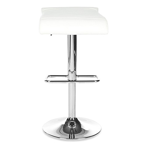 Safavieh Donald Gas Lift Stool in White