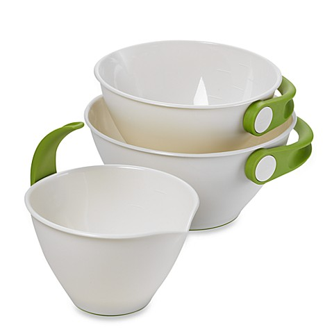 Chef'n® Pop + Pour™ 3-Piece Mixing Bowl Set