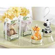 image of Kate Aspen® Born to be Wild Animal Candles - Set of 4