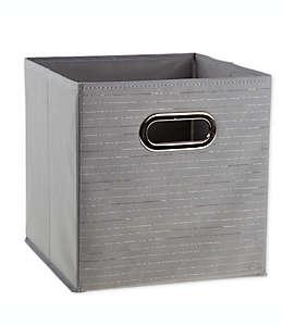 Contenedor plegable Relaxed Living® de 27.94 cm en gris plata