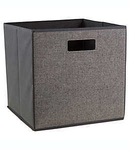 Contenedor de cartón plegable ORG™ de 33.02 cm color negro/blanco