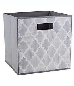 Contenedor de cartón plegable ORG™ de 33.02 cm color gris acuarela